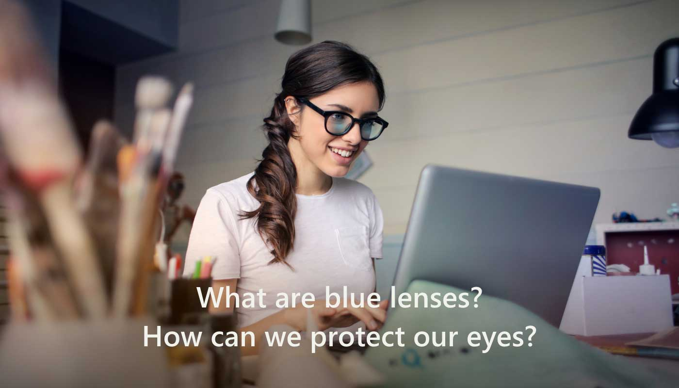 How to protect eyes from blue light.