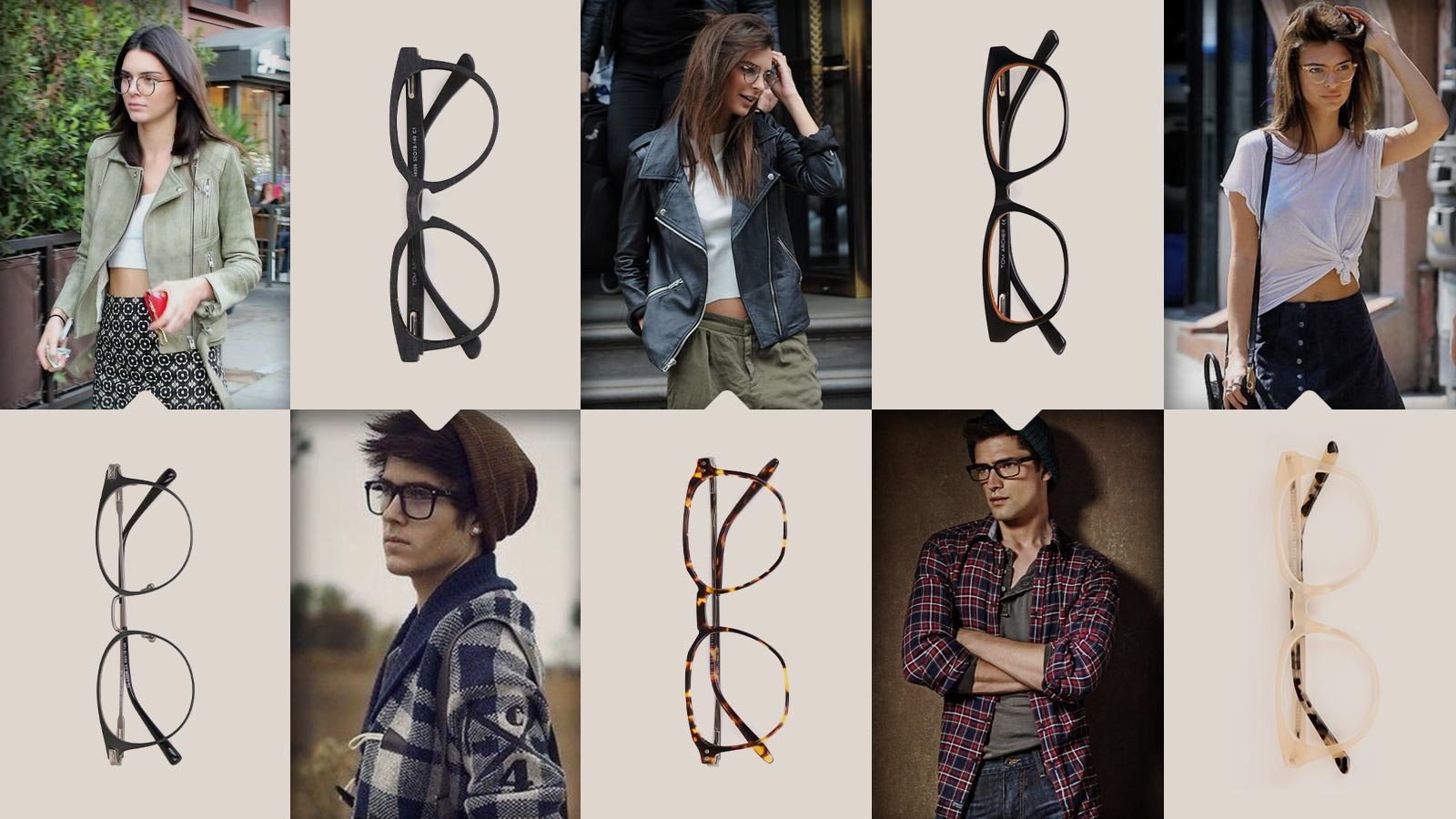When and how can you match stylish outfits with glasses.