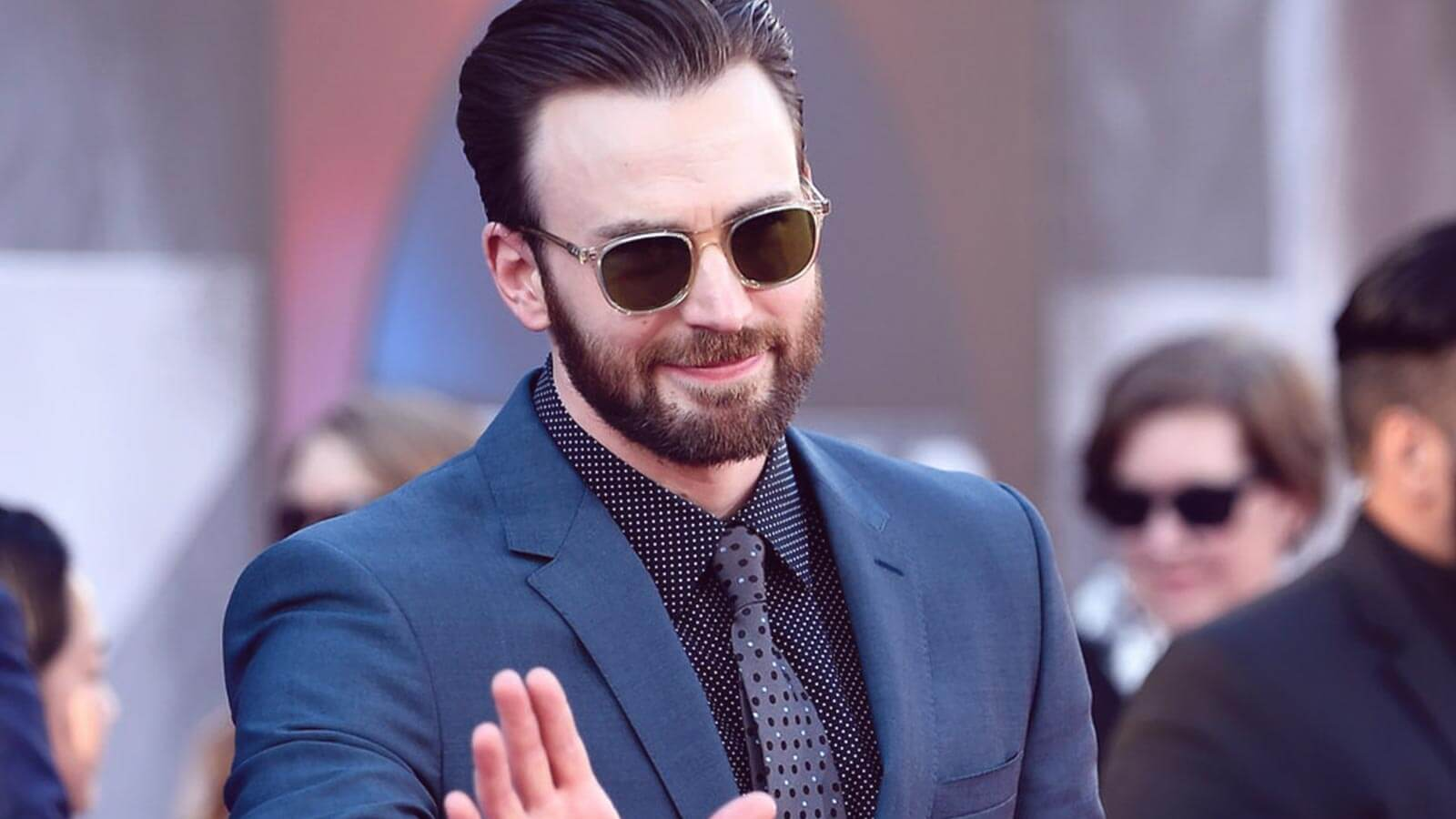 Perk up like Captain America with Chris Evans Glasses