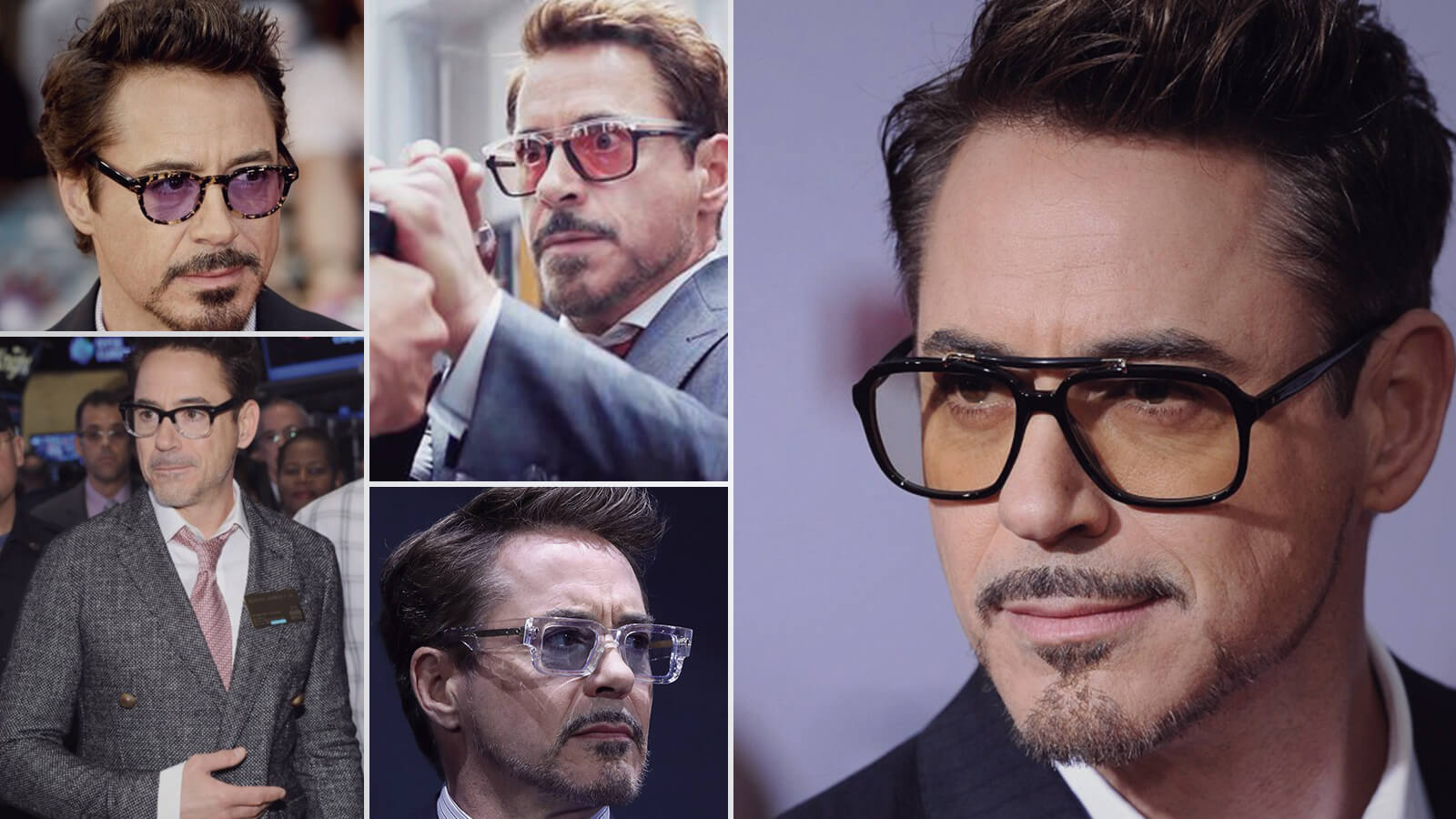 Time to Discover the Top 10 Robert Downey Jr Glasses and Sunglasses