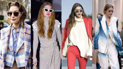 Take notes on Gigi Hadid's badass eyewear picks