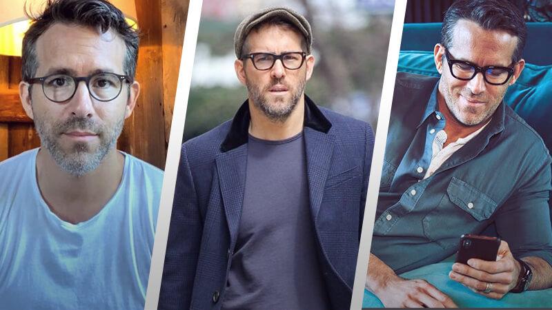 7 Ryan Reynolds Eyewear Styles You Can Copy Easily