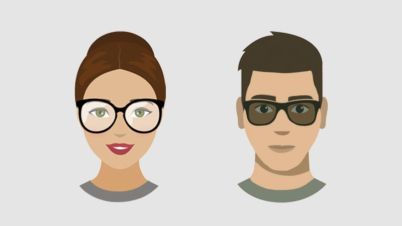 What Glasses to Choose for an Oval Face Shape