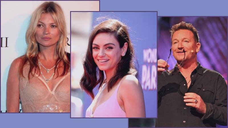 10 Celebrities you didn't know have/had eye diseases and disorders