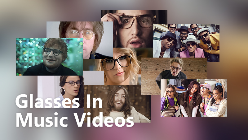 Glasses in Music Videos  Your Favourite Celebs in Nerdy Appeal