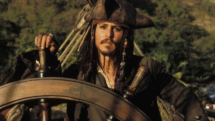 The Pirate Behind the Scenes - Johnny Depp Glasses