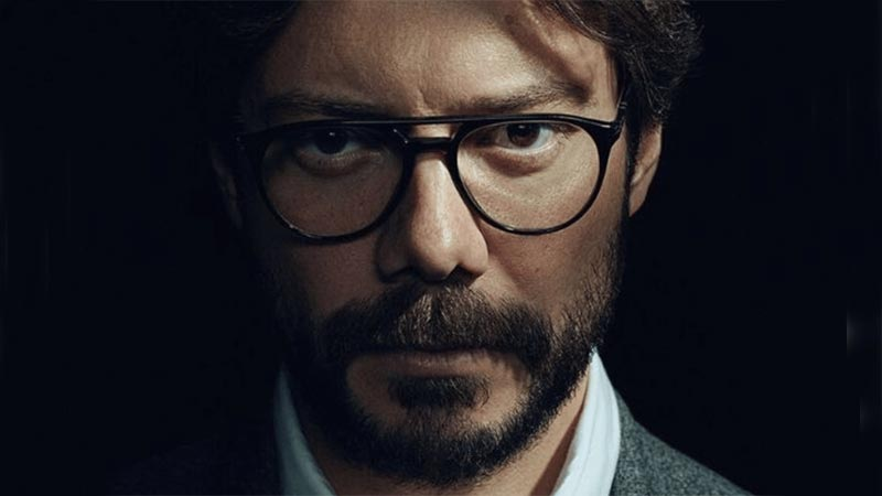 Talk of the town - Money Heist and the Professor's Glasses