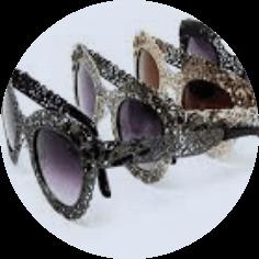 Embellished Sunglasses Lace