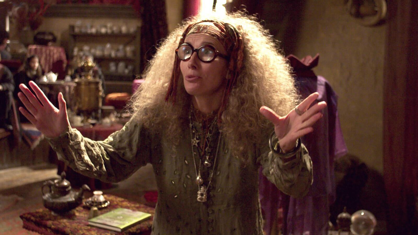 """Professor Trelawney from """"Harry Potter"""""""