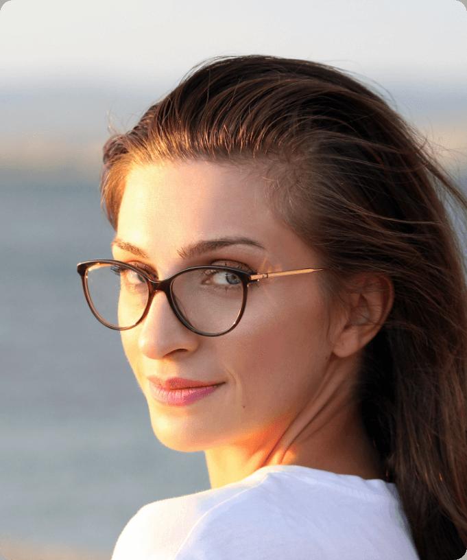 Hipster Black Glasses