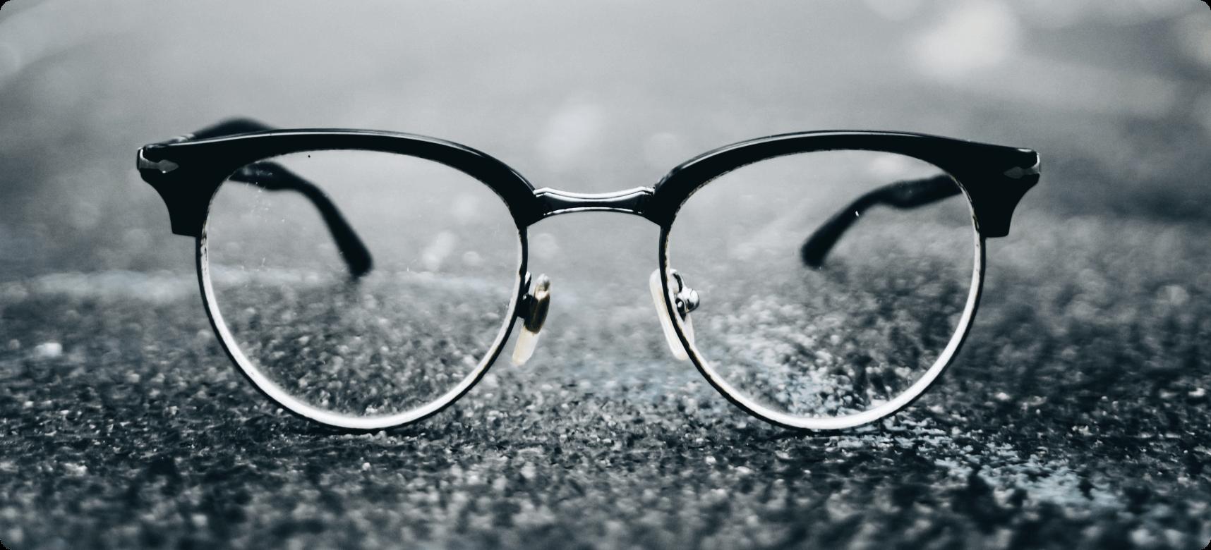 Browline Black Glasses