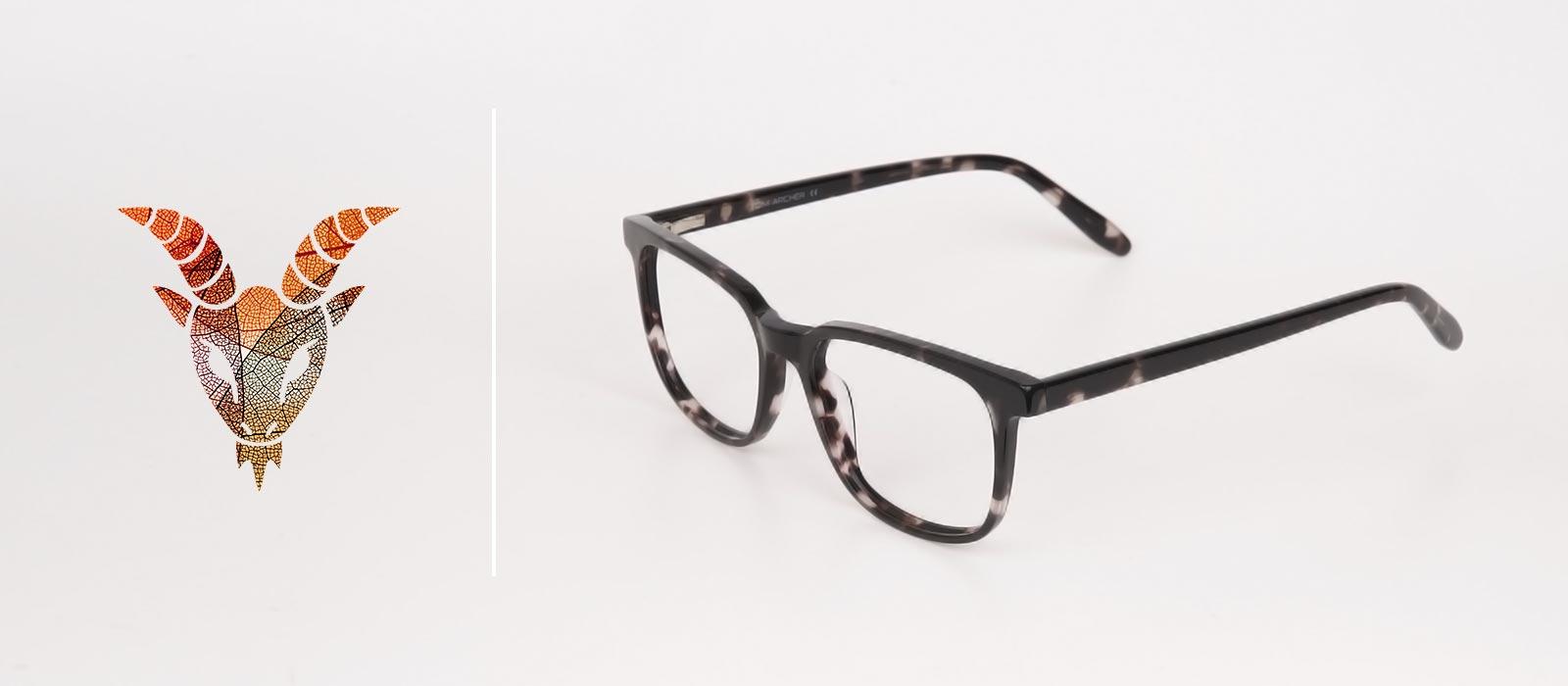 Eyewear trends 2019 with Capricorn Zodiac sign