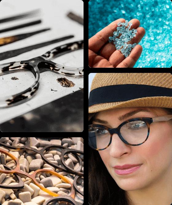 Cat Eye Glasses Acetate