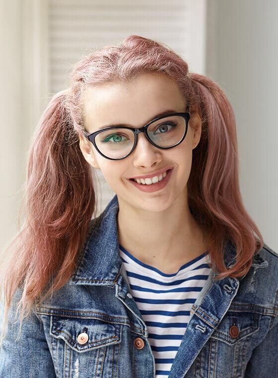 Cat Eye Glasses