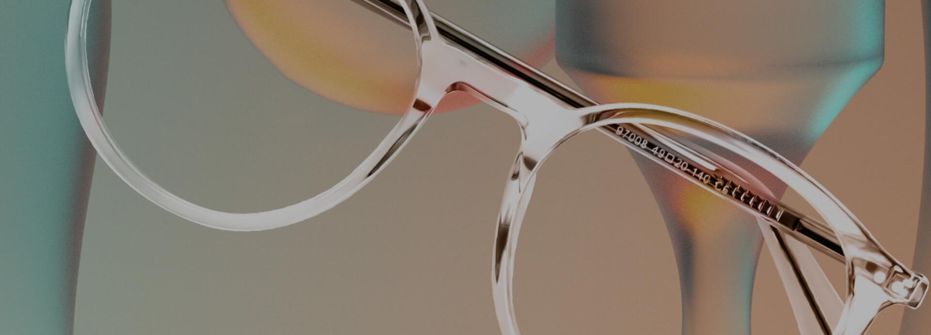 Mens Clear Glasses