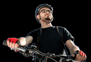 Men Wearing Prescription Cycling Glasses