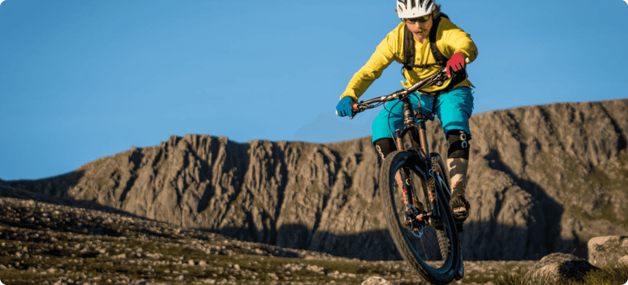 Cycling glasses for mountain biking