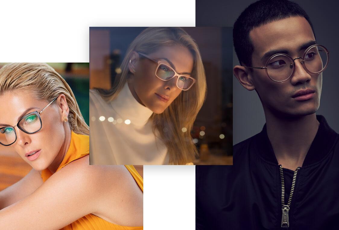 Designer Glasses Prescription and Non-Prescription