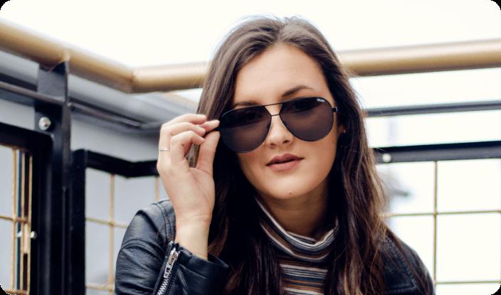 Double Bridge Sunglasses for Women
