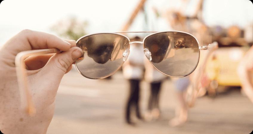 Double Bridge Sunglasses prescription