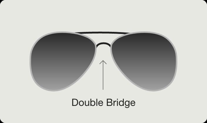 Double Bridge Sunglasses view