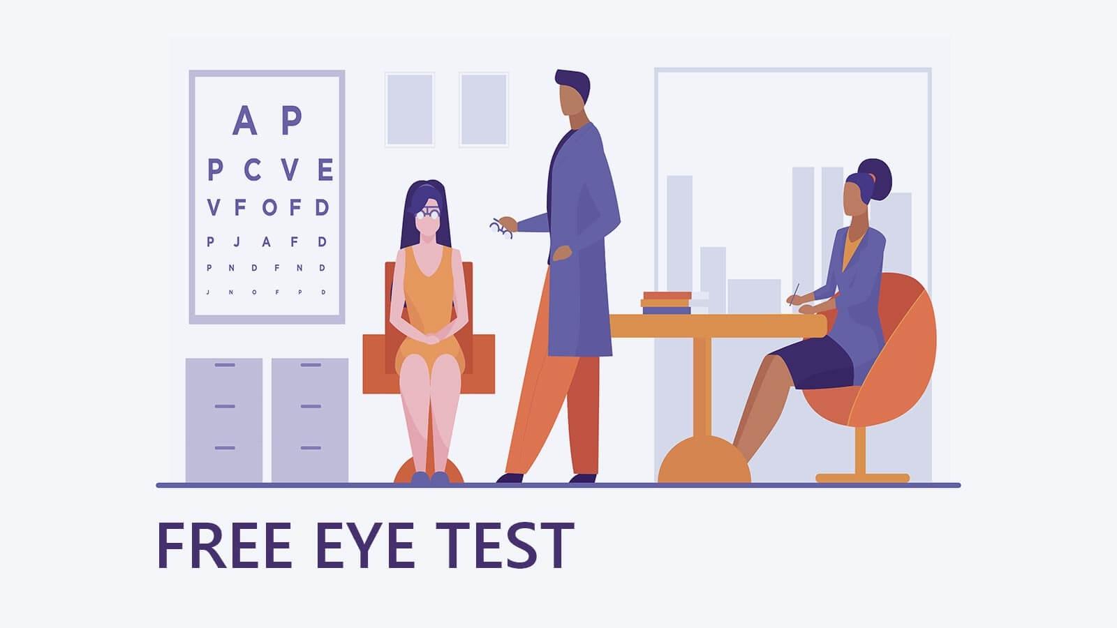Specscart Free Eye test