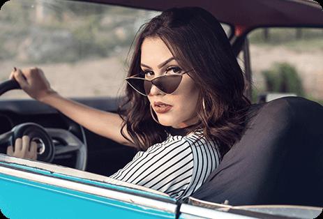 Geometric Sunglasses For Women 1