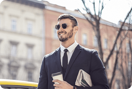 Geometric Sunglasses For men 1