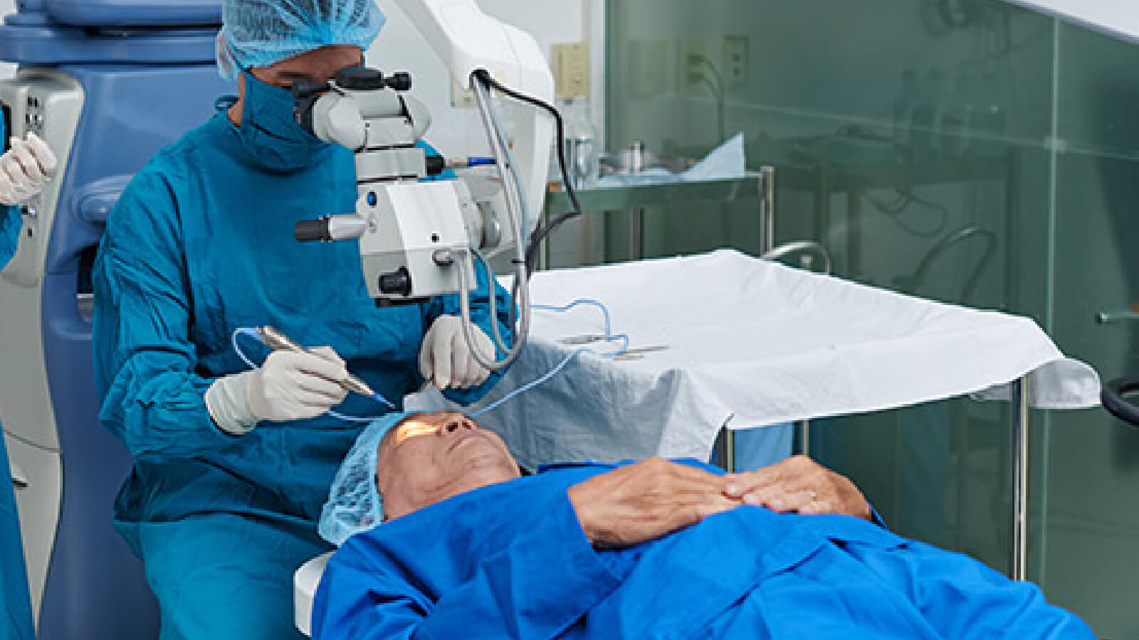 Glaucoma Treatments- Surgery
