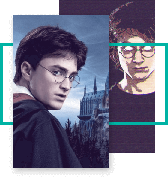 Face Shape suitable for Harry Potter Eyeglasses