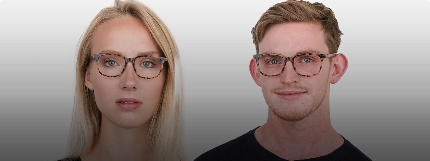 Leopard print glasses for men and women