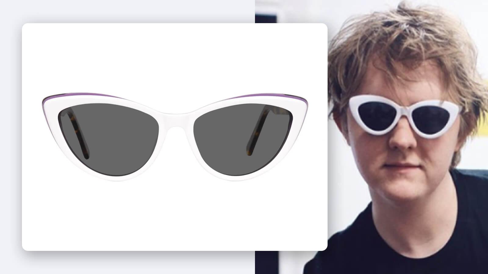 Lewis Capaldi Cat Eye Sunglasses