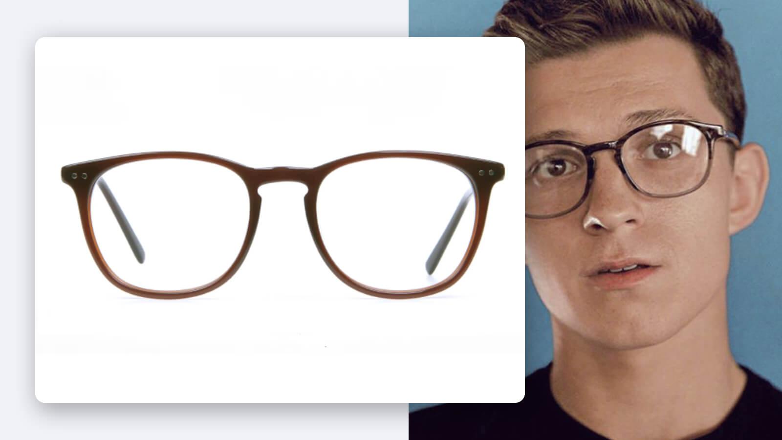 Tom Holland Havana & Tortoise Shell Glasses