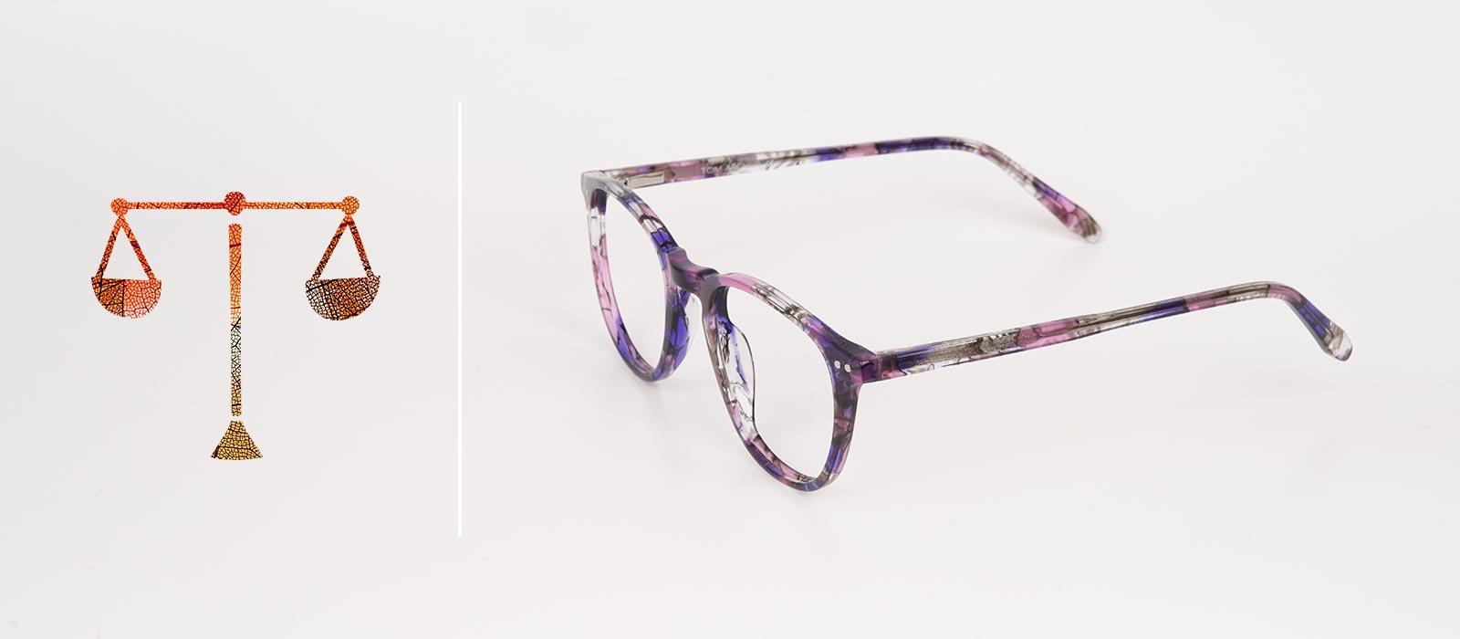 eyewear trends 2019 with libra zodiac sign