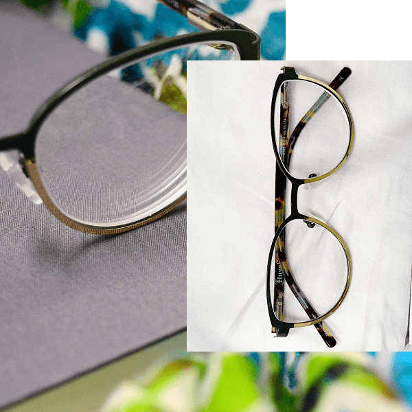 Marble Eyeglasses for Students