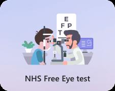 NHS free Eye test