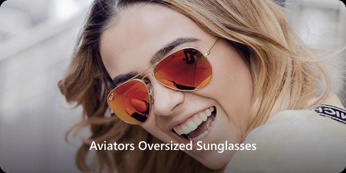 Oval Face Shape aviator