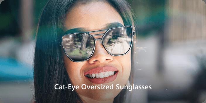 Oval Face Shape cat-eye