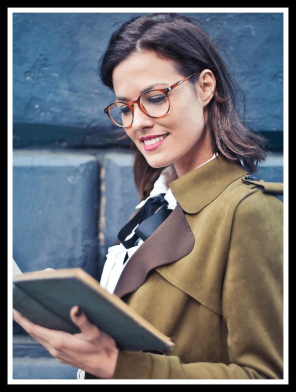 Oval Prescription and reading glasses