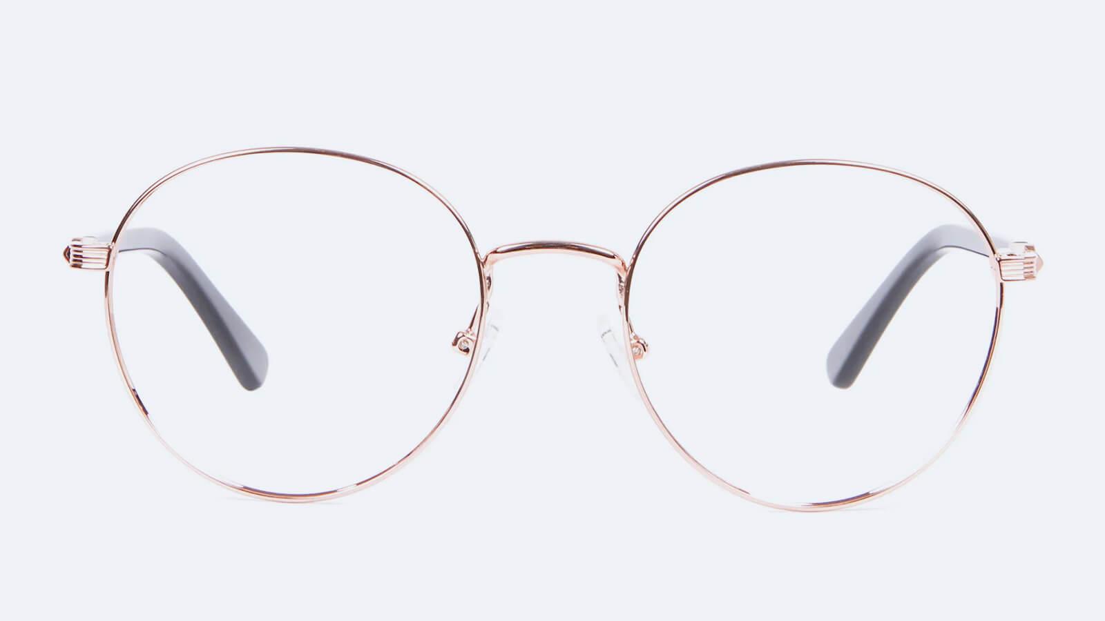 Retro Round Glasses