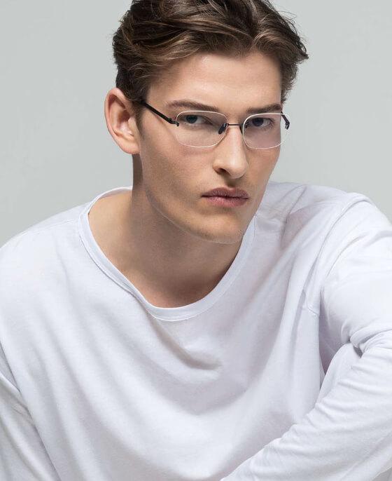 Rimless Glasses for Men