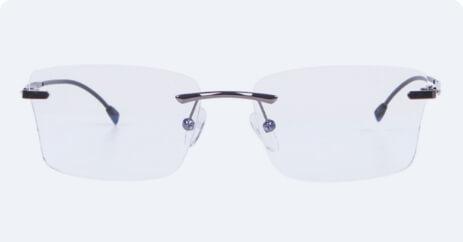 Rimless x blue lenses