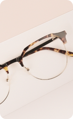 Round mixed material frames