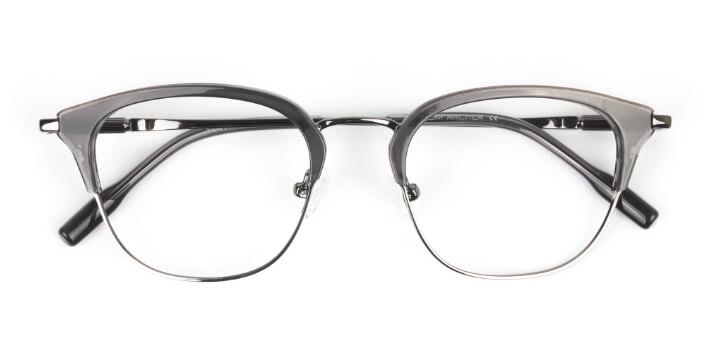 Browline Square Glasses