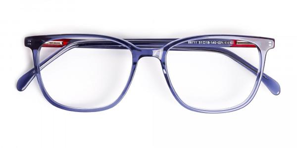 Clear Square Glasses