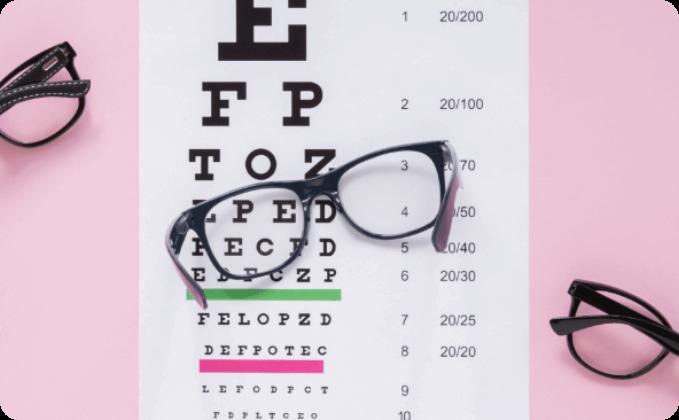 Prescribed Square Glasses