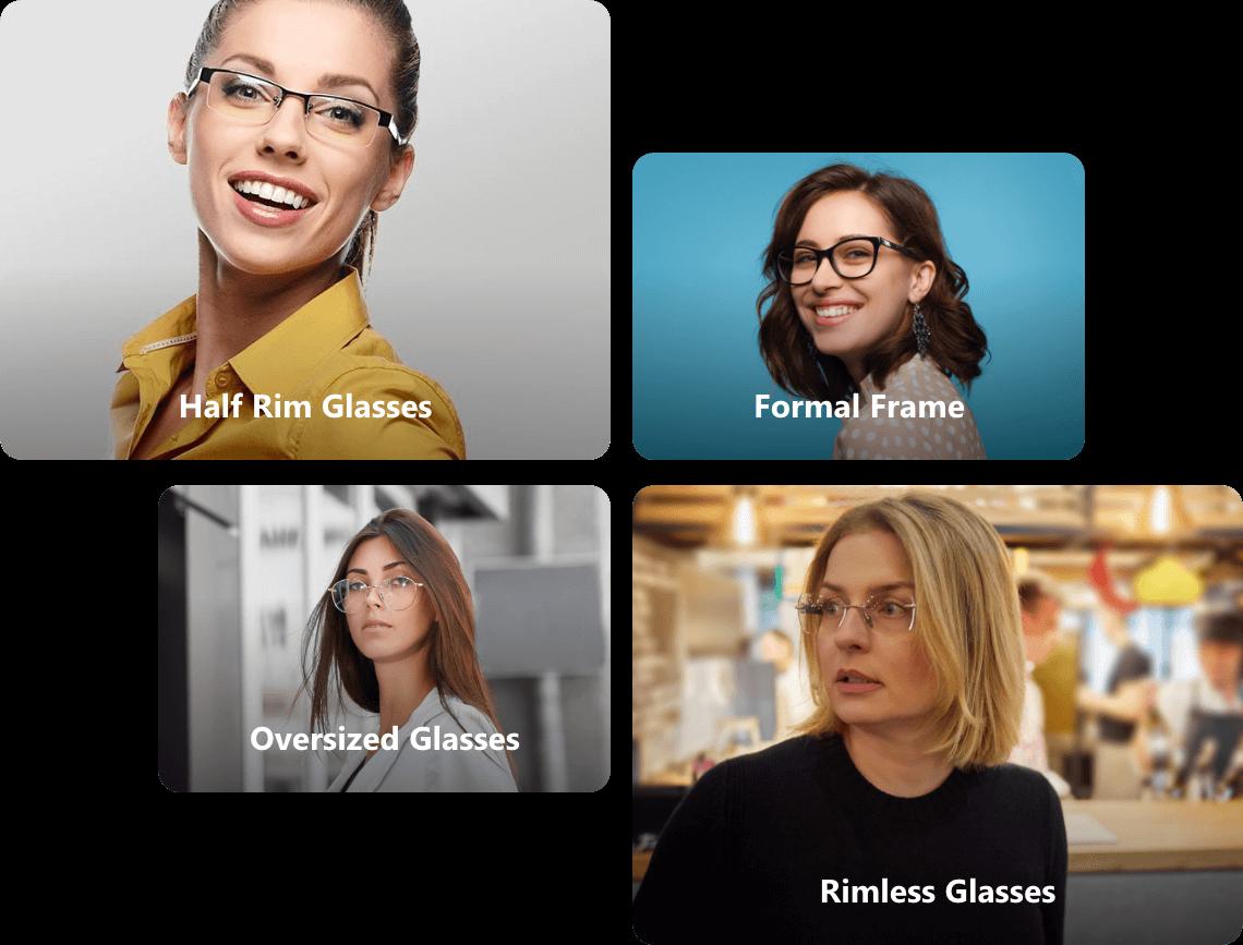 Square Glasses for women