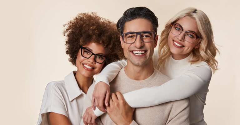 UK Square Glasses