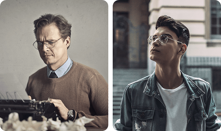 Vintage Glasses For Men