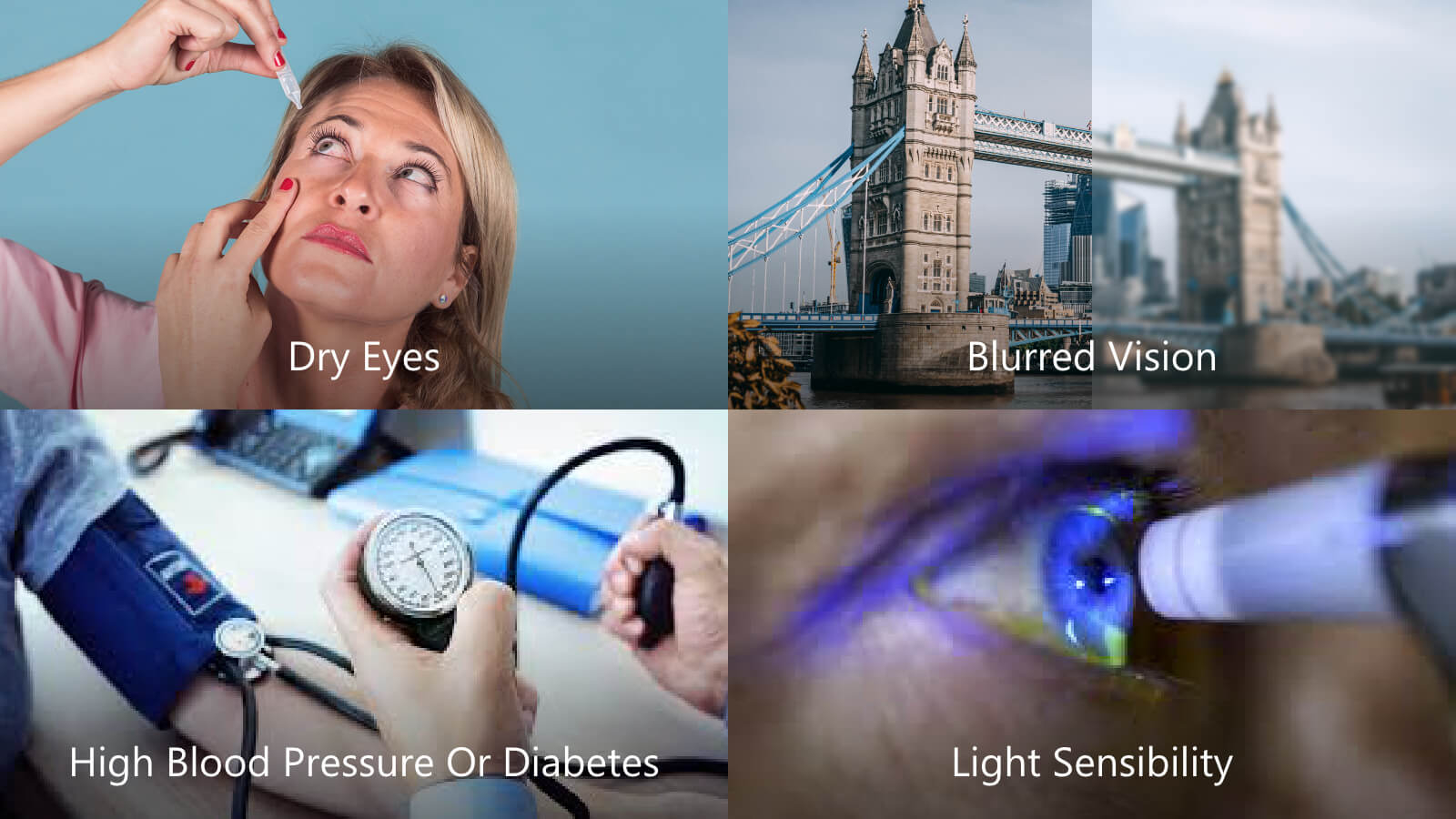 changes you'll experience in your eyes while you are pregnant: